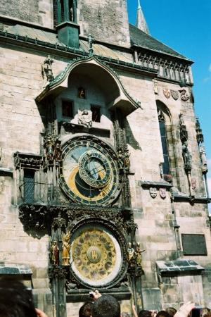 Old Town Hall with Astronomical Clock: Praha 2008- Astrological clock