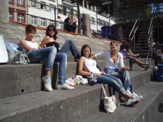บาเซิล, สวิตเซอร์แลนด์: pohoda v Baseli