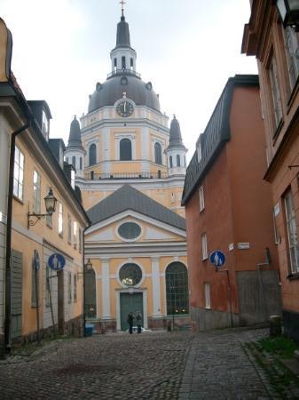 สตอกโฮล์ม, สวีเดน: yellow building with clock. what else u wanna know?