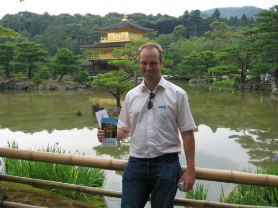 วัดคินคาคุจิ: The golden temple of kyoto