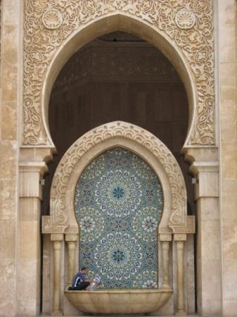 คาซาบลังกา, โมร็อกโก: Mosquée Hassan II CASABLANCA