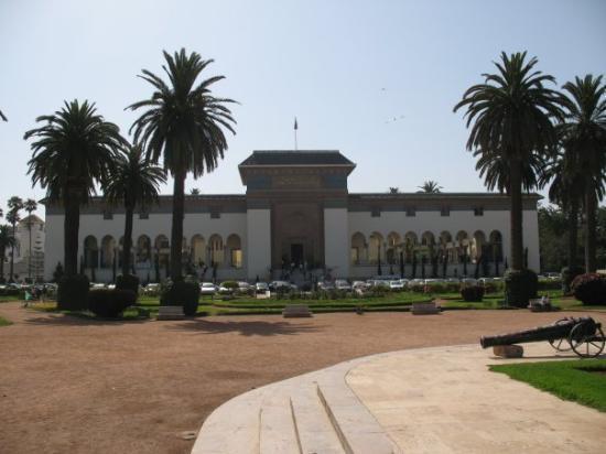 คาซาบลังกา, โมร็อกโก: Palais de Justice_Place Mohammed V CASABLANCA