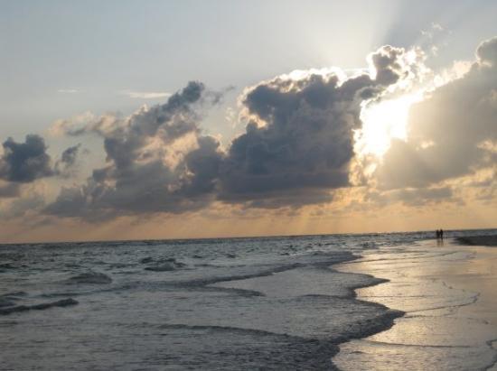 ซาราโซตา, ฟลอริด้า: Sunset on Lido Beach, Sarasota 6/4/09