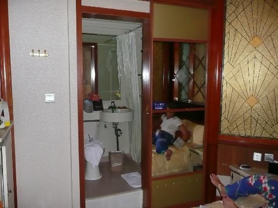 โรงแรมแมนฮัตตันบันด์บิสซิเนส: baño