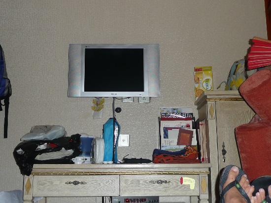 โรงแรมแมนฮัตตันบันด์บิสซิเนส: tele