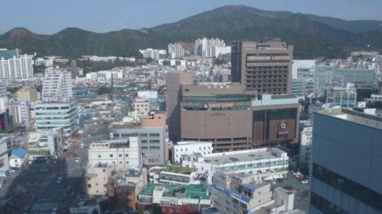 ปูซาน, เกาหลีใต้: Blick nach Norden
