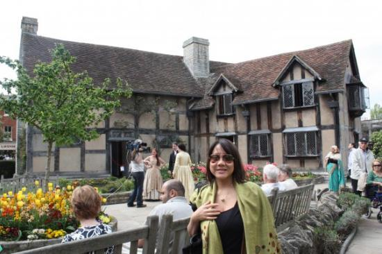 Stratford-upon-Avon, UK: Shakespeares crib @Stratford