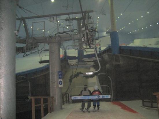 Ski Dubai - Intermediate chairlift