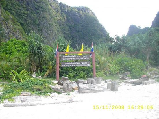 เกาะพีพีดอน, ไทย: Vieron la Playa de Dicrapio esta es