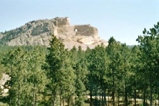 Crazy Horse Memorial: Grandios! Fantastisch! Sensationell! Gigantisch! Wer's nicht sieht, der glaubt es nie im Leben.
