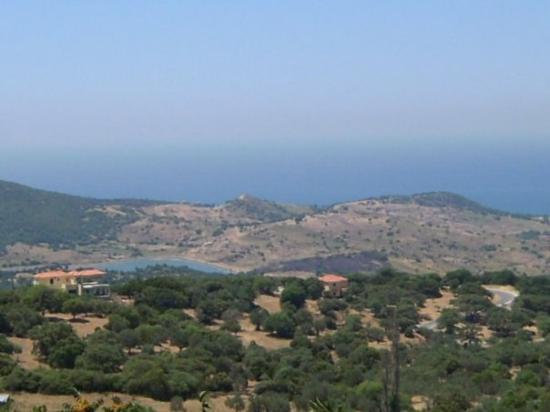 Mytilene, กรีซ: Utsikt från Vaifos, Mytilini 09