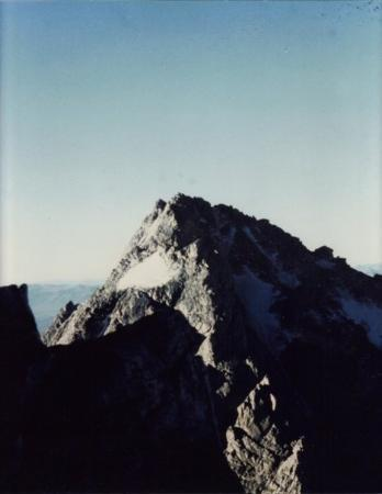 แจ็กสัน, ไวโอมิง: The Middle Teton summit from the side of The Grand