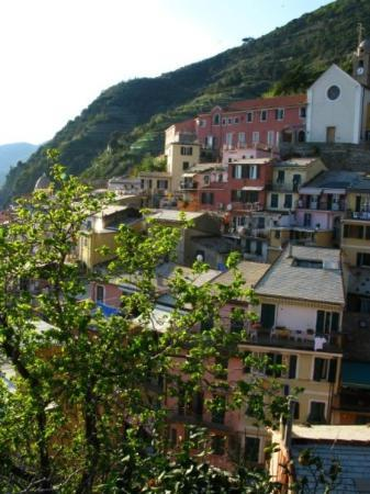 Vernazza, fourth town of the Cinque Terre.