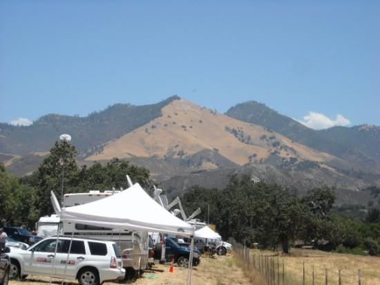 ซานตาบาร์บารา, แคลิฟอร์เนีย: Mount Katherine, part of the 3000 acre Neverland Ranch, named for Michael's mother.