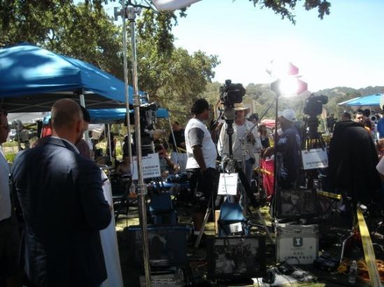 ซานตาบาร์บารา, แคลิฟอร์เนีย: The media circus.