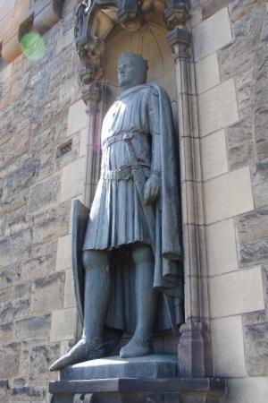 ปราสาทเอดินเบิร์ก: tribute to Robert the Bruce, Edinburgh Castle