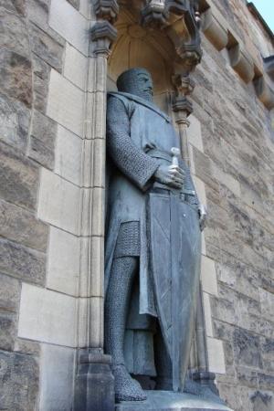 ปราสาทเอดินเบิร์ก: tribute to William Wallace, Edinburgh Castle