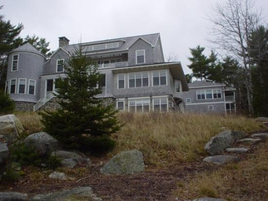 บาร์ฮาร์เบอร์, เมน: The cottage where we stayed in Maine