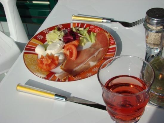 Badolato, อิตาลี: Meal  Jan 2008