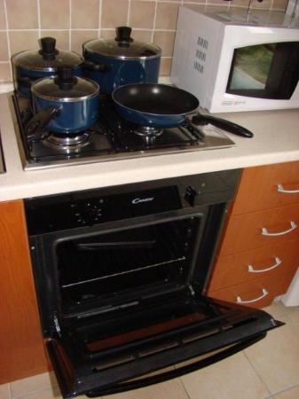 Badolato, อิตาลี: Oven Hob & Microwave  Jan 2008