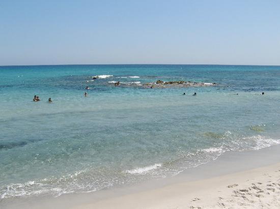 Cap-Bon Kelibia Beach Hotel & Spa: spiaggia KELIBIA 15 agosto 2009