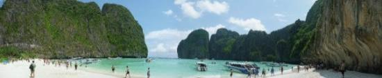 "เมืองกระบี่, ไทย: Maya Bay Sightseeing (Scene of the film ""The Beach"")"