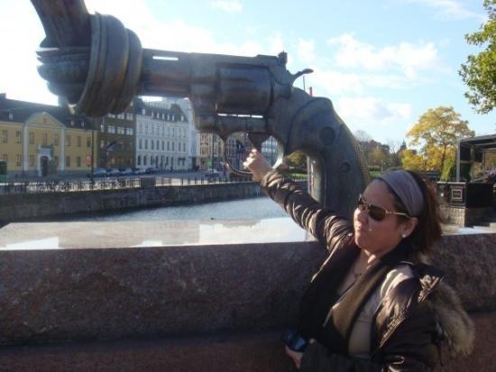 มัลโม, สวีเดน: Superman was here
