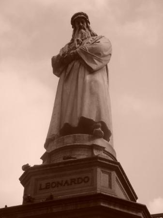 มิลาน, อิตาลี: Leonardo Da Vinci