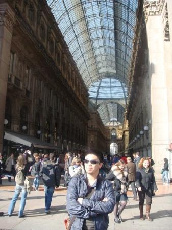 มิลาน, อิตาลี: Shopping again inGalleria Vittorio Emanuele II.