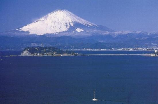 """โยะโกะฮะมะ, ญี่ปุ่น: """"Fuji San"""" - an old saying: If you are able to see """"Fuji San"""" during your departure from Japan,"""