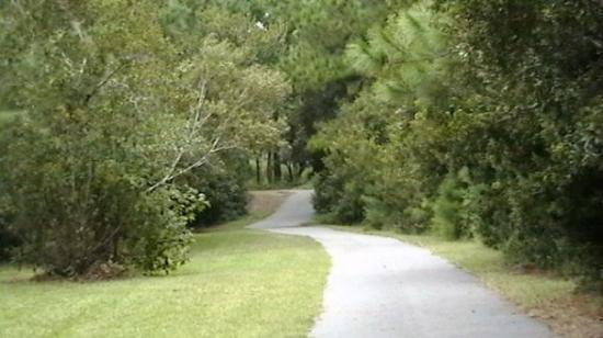 สะวันนา, จอร์เจีย: Entrance to the mile-long trail.