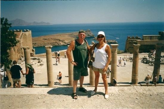 ลินดอส, กรีซ: Acropoli di LINDOS
