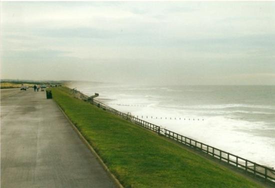 อะเบอร์ดีน, UK: Meren rannalla... Aberdeen Beach...