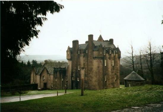 อะเบอร์ดีน, UK: Crathes Castle