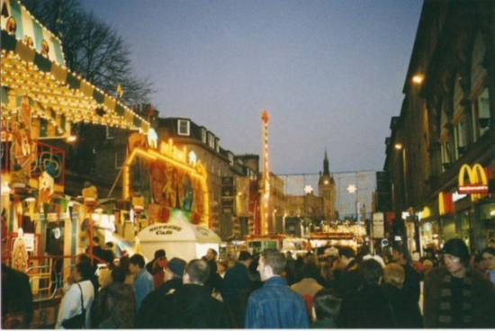 อะเบอร์ดีน, UK: Union Street joulun alla....