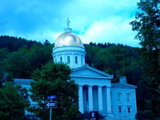 Vermont State House ภาพถ่าย