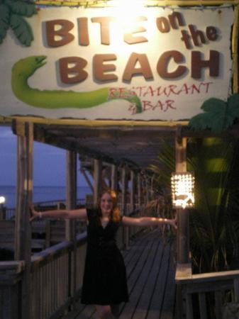 Bite on the Beach: the restaurant =)