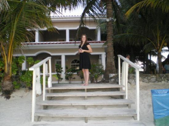 Mayan Princess Beach & Dive Resort: me in front of the condo