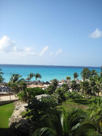 Sandos Playacar Beach Resort: View from room 1427