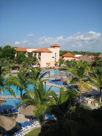 Sandos Playacar Beach Resort: View from 1427
