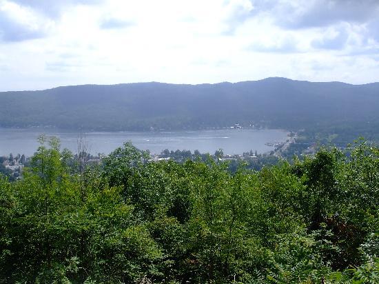 Prospect Mountain: lake