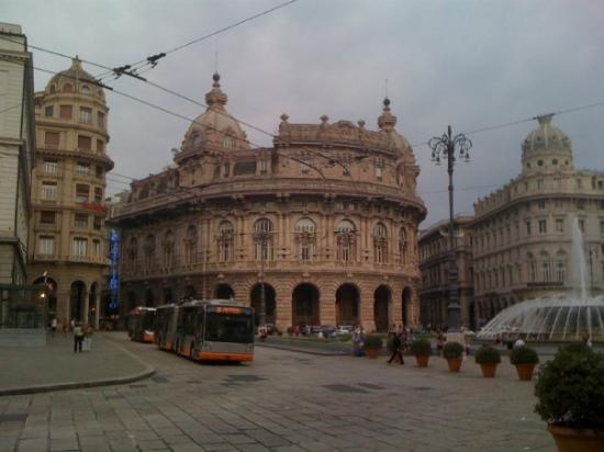 เจนัว, อิตาลี: Piazza de Ferrari