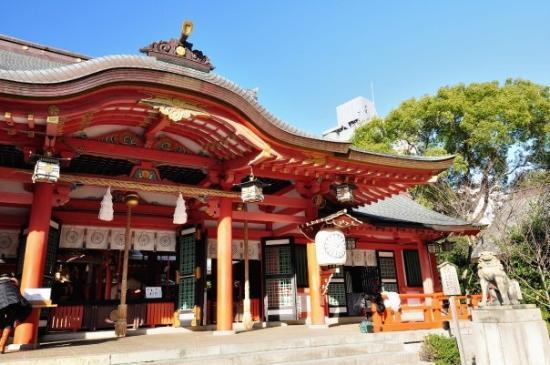 โกเบ, ญี่ปุ่น: 往北野途中因走錯路而遇到的神社, 亦是在旅程中遊歷的第一個神社 - 生田神社