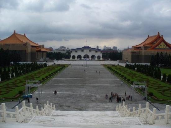 ไทเป, ไต้หวัน: 中正紀念堂前廣場