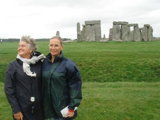 Cathedral View: Jean and Mina at Stonehenge