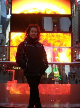 จตุรัสไทม์ส: A fuego en TiImes Square.