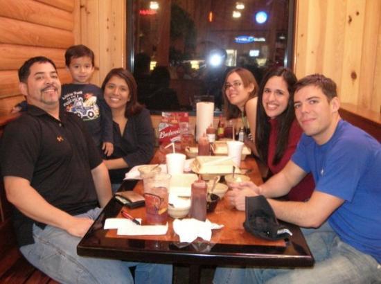 Smokin Pig: The family at the Smok n' pig