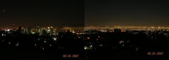 เม็กซิโกซิตี, เม็กซิโก: 1/3 of Mexico city at night