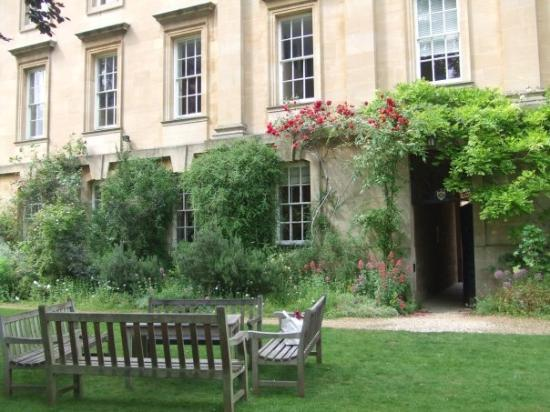 อ๊อกซฟอร์ด, UK: It's the garden of the college.