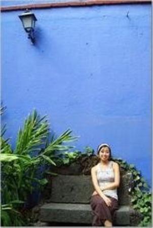 เม็กซิโกซิตี, เม็กซิโก: Frida Kahlo & Diego Riviera's Casa Azul in Coyacan, Mexico (March 2006)
